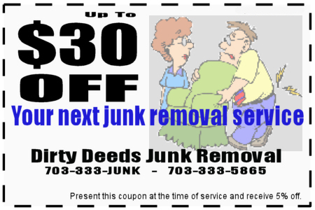 Junk Removal & Hot Tub Removal in Northern Virginia